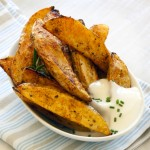 Quick and Healthy Potato Wedges
