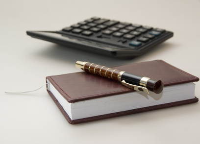 Diary and calculator