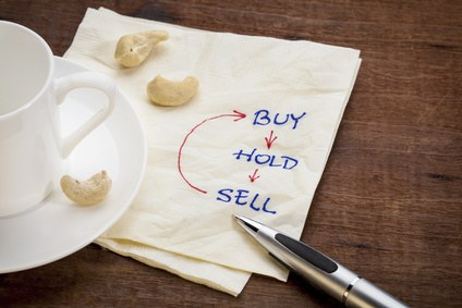 stock investing on napkin notes