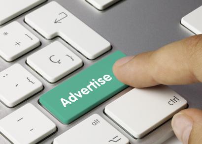 Advertise keyboard key