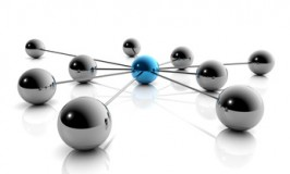 Internet und Social Media - 3D Grafik / 3d Illustration