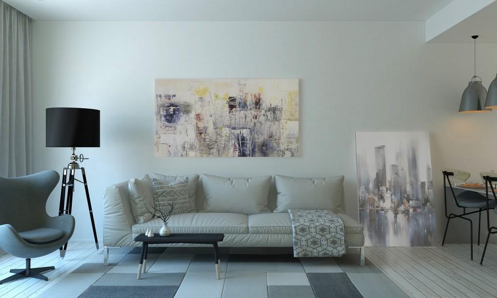 sofa living room white